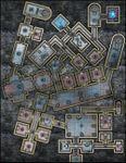RPG Item: VTT Map Set 206: Offworld Prison Station