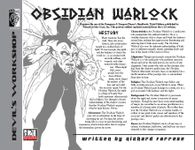 RPG Item: Obsidian Warlock