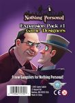 Board Game: Nothing Personal Expansion Pack #1: Game Designers