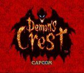 Video Game: Demon's Crest