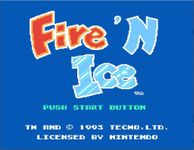 Video Game: Fire 'n Ice