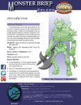 RPG Item: Monster Brief: Golems