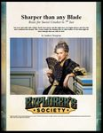 RPG Item: Sharper than any Blade: Rules for Social Combat in 7th Sea