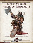 RPG Item: Mythic Minis 059: Feats of Brutality