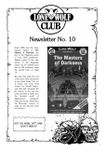 Issue: Lone Wolf Club Newsletter (Issue 10 - 1988)