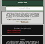 RPG Item: Ghostlight (Version 2)