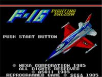 Video Game: F-16 Fighting Falcon