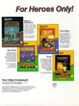 Video Game Publisher: Sirius Software, Inc.