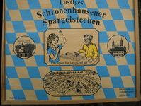 Board Game: Lustiges Schrobenhausener Spargelstechen