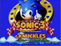Video Game Compilation: Sonic 3 & Knuckles