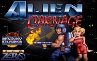 Video Game: Alien Carnage