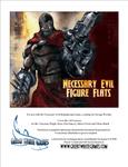 RPG Item: Necessary Evil Figure Flats