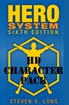 RPG Item: HERO System 6th Edition Core Book Character Pack (HD Character Pack)