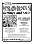 RPG Item: GURPS Steampunk 1: Settings and Style