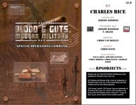 RPG Item: Blood & Guts 2.0: Special Operations Command