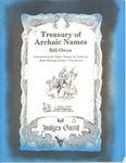 RPG Item: Treasury of Archaic Names