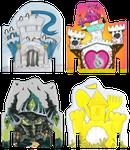 Board Game Accessory: Kingdomino: Promo Castles
