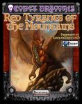RPG Item: Codex Draconis #4: Red Tyrants of the Mountains