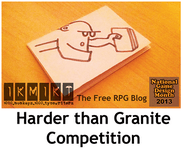 Series: Harder than Granite 24-hour RPG