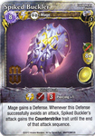 Board Game: Mage Wars: Spiked Buckler Promo Card