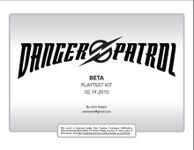 RPG Item: Danger Patrol (Playtest)