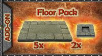 RPG Item: Game Tiles Dungeon Floor Pack A