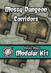 RPG Item: Heroic Maps Modular Kit: Mossy Dungeon Corridors