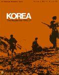 Board Game: Korea: The Mobile War 1950-51