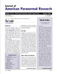 Issue: Journal of American Paranormal Research (Vol 1, Issue 4 - Summer 2004)