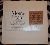 Board Game: Morra-board