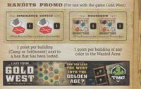 Board Game: Gold West: Bandits Promo