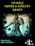 RPG Item: 100 Male Sword & Sorcery Names