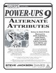 RPG Item: GURPS Power Ups 9: Alternate Attributes