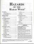 RPG Item: Hazards of the Harad Wood