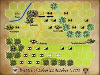 Board Game: Battle of Lobositz, October 1, 1756