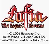 Video Game: Lufia: The Legend Returns