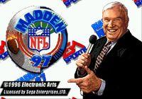 Video Game: Madden NFL 97