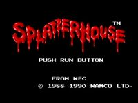 Video Game: Splatterhouse [1990]