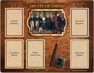 Board Game Accessory: 1812: The Invasion of Canada – Treaty of Ghent