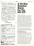 Video Game: The Six Gun Shootout (1981)