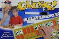Board Game: GUESS! Wörterraten für Schnelldenker