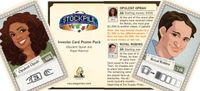 Board Game: Stockpile: Investor Card Promo Pack #1 – Opulent Oprah and Royal Robins