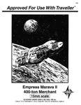 RPG Item: Empress Marava II: 400 Ton Merchant