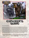 RPG Item: Steampunk Musha Explorer's Guide