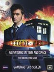 RPG Item: Doctor Who: Adventures in Time and Space – Gamemaster's Screen (10th Doctor)
