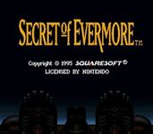 Video Game: Secret of Evermore
