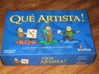 Board Game: Qué Artista!
