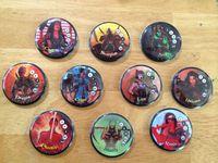 Board Game: Button Men