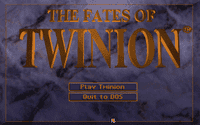 Video Game: Fates of Twinion