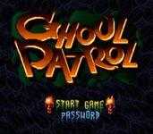 Video Game: Ghoul Patrol